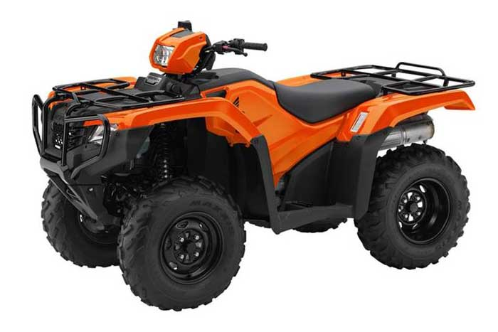 2016 Honda FourTrax Foreman 4x4 EPS ATV orange