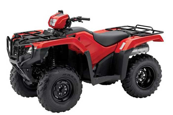 2016 Honda FourTrax Foreman 4x4 EPS ATV red