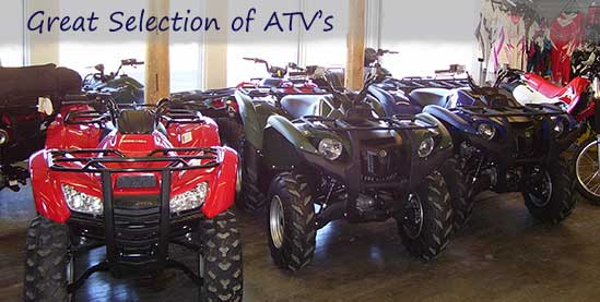 Great ATV Selection