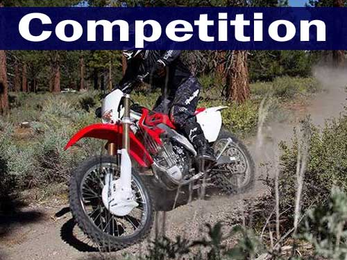 Honda Competition Bikes