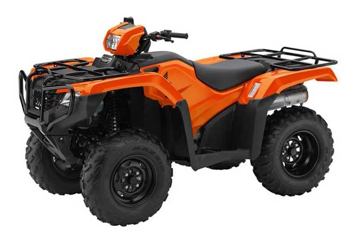 2016 Honda FourTrax Foreman 4x4 ESP EPS ATV orange
