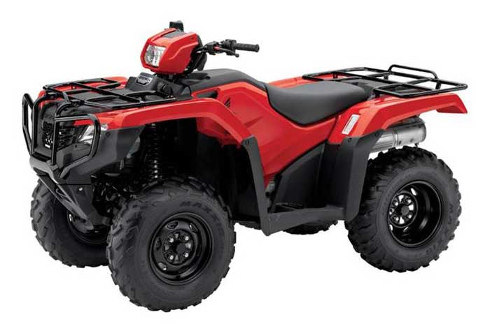 2016 Honda FourTrax Foreman 4x4 ESP EPS ATV red