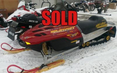 2002 Ski Doo Summit 700